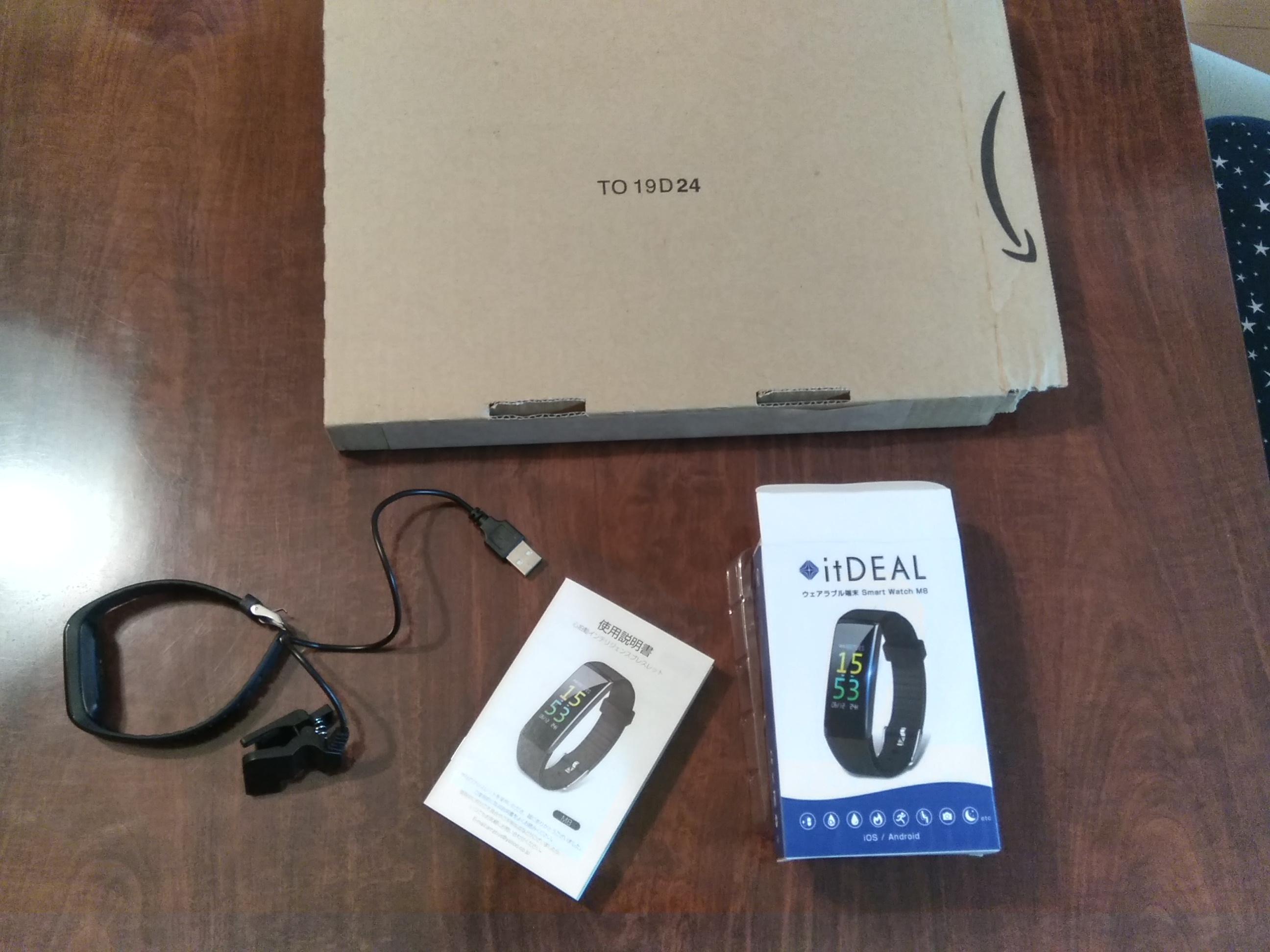 itDEAL M8 (スマートウォッチ)の購入・レビュー(評価